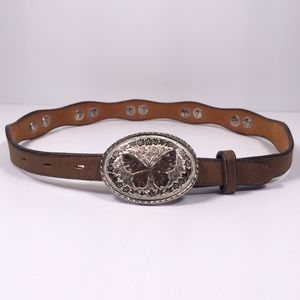 BAR 3 Belt with Butterfly Buckle